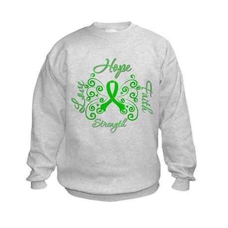 ODA Hope Love Faith Kids Sweatshirt