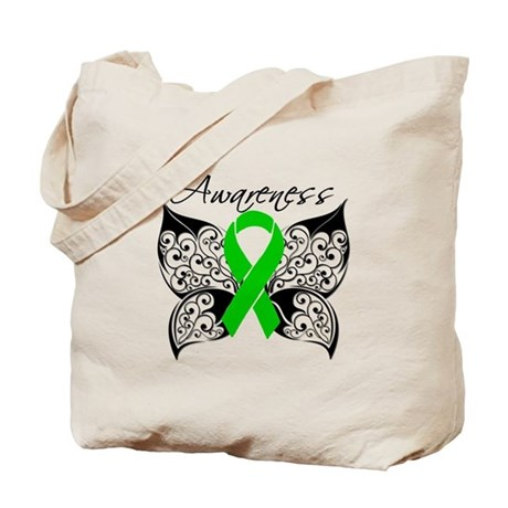 Organ Donor Butterfly Tote Bag