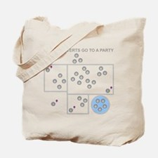 The Introverts Go To a Party Tote Bag
