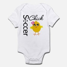 Soccer Chick v2 Infant Bodysuit