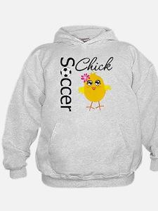 Soccer Chick v2 Hoodie