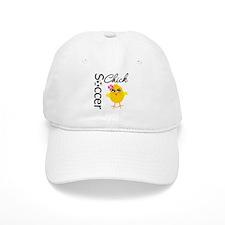 Soccer Chick v2 Baseball Cap