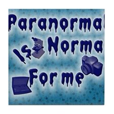 Paranormal Designs Tile Coaster