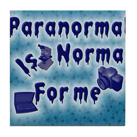 Paranormal Designs Tile Coaster