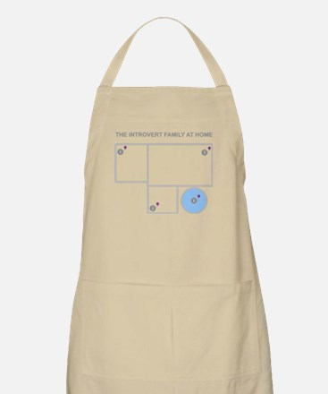 Introvert Family at Home Apron