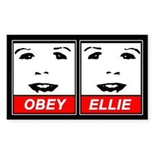 Obey Ellie Decal