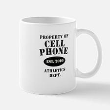 Cell Phone Athletics Mug