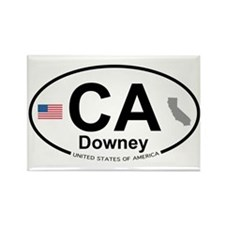Downey Rectangle Magnet