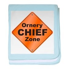Chief / Ornery baby blanket