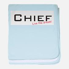 Chief / Dream! baby blanket