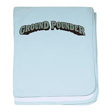 Ground Pounder baby blanket