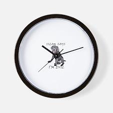 Islam Says I'm Evil Wall Clock
