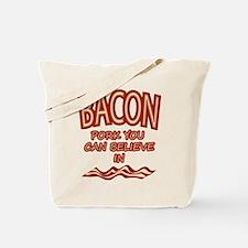 Pork To Believe In Tote Bag