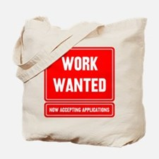 Cute Help wanted Tote Bag