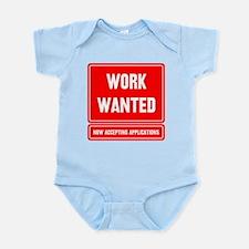 Cute Unemployed Infant Bodysuit