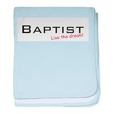 Baptist / Dream! baby blanket