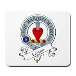 Logan Clan Badge Mousepad