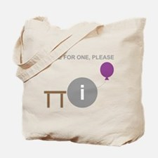 Table for One, Please Tote Bag