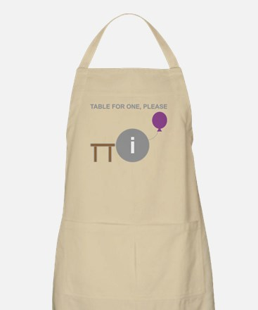 Table for One, Please Apron