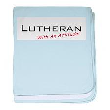 Lutheran / Attitude baby blanket