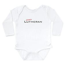 Ornery Lutheran Long Sleeve Infant Bodysuit