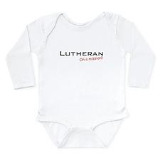 Lutheran / Mission! Long Sleeve Infant Bodysuit