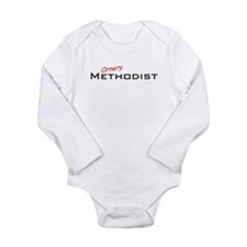 Ornery Methodist Long Sleeve Infant Bodysuit