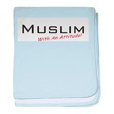 Muslim / Attitude baby blanket