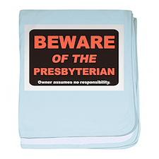 Beware / Presbyterian baby blanket
