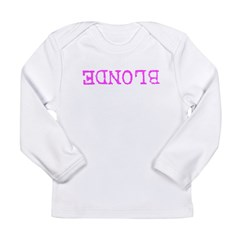 Blonde Long Sleeve Infant T-Shirt