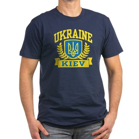 Ukraine Kiev Men's Fitted T-Shirt (dark)