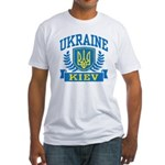 Ukraine Kiev Fitted T-Shirt