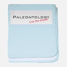 Paleontology / Dream! baby blanket