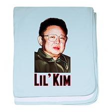 Kim Jong Il baby blanket