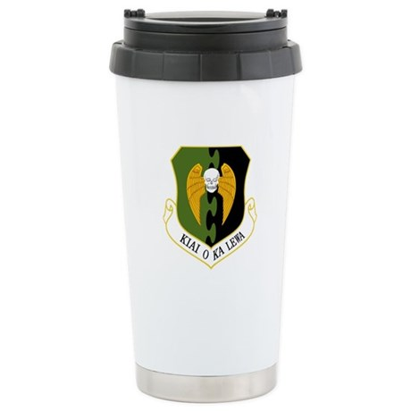 5th Bomb Wing Stainless Steel Travel Mug
