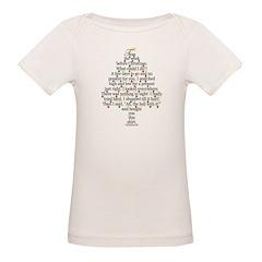 Christmas Tree, Gift, Poem, f Tee