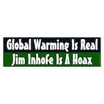 Jim Inhofe and Global Warming bumper sticker