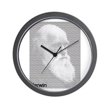 Unique Darwinism Wall Clock