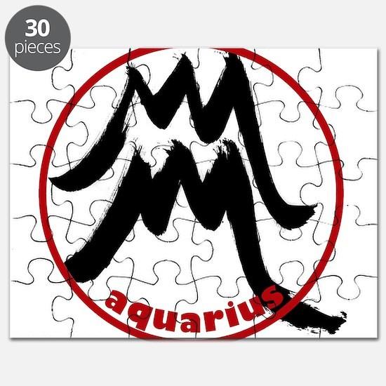 Aquarius Symbol Puzzle