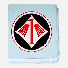 Luftwaffe Secret Project baby blanket