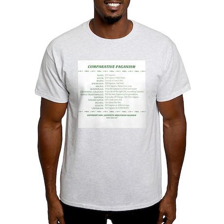 Comparative Paganism Ash Grey T-Shirt