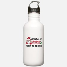 All I Want For Christmas Water Bottle