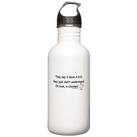 ADD Chicken Stainless Water Bottle 1.0L