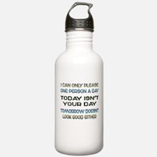 I Can Only Please... Water Bottle