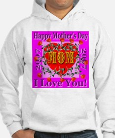 Happy Mother's Day A Dozen Roses Hoodie