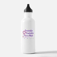 Twinkle Twinkle I'm a Star Sports Water Bottle