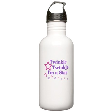 Twinkle Twinkle I'm a Star Stainless Water Bottle