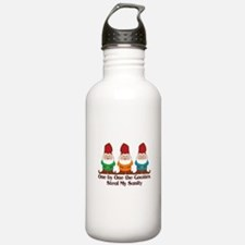 One By One The Gnomes Water Bottle