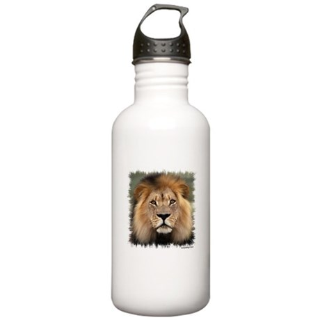 Lion Photograph Stainless Water Bottle 1.0L