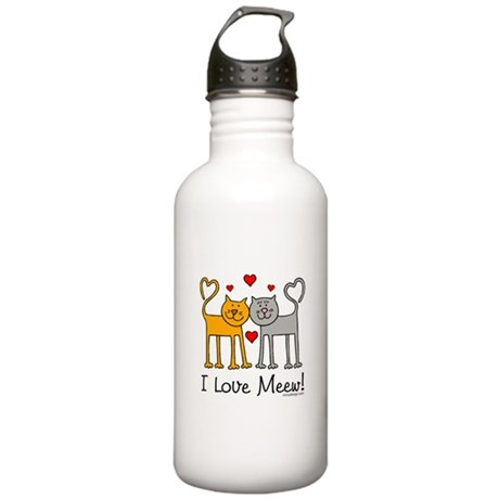 I Love Meew! Stainless Water Bottle 1.0L